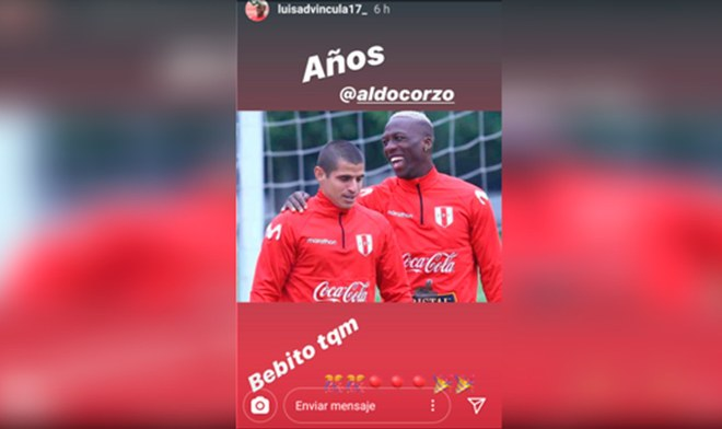 Luis Advíncula, Instagram