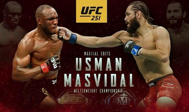 UFC 251-Usman vs Masvidal