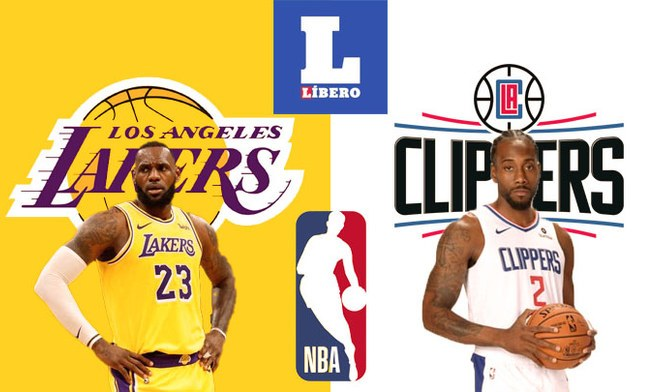 NBA Lakers vs Clippers