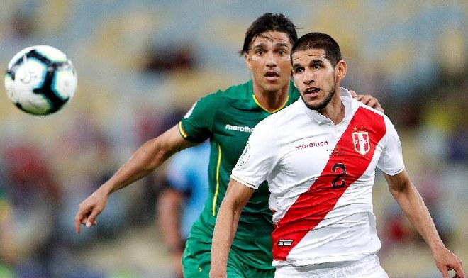 Luis Abram selección peruana