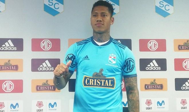 Sporting Cristal-Ray Sandoval