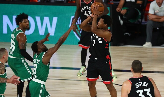 Raptors vs Celtics NBA
