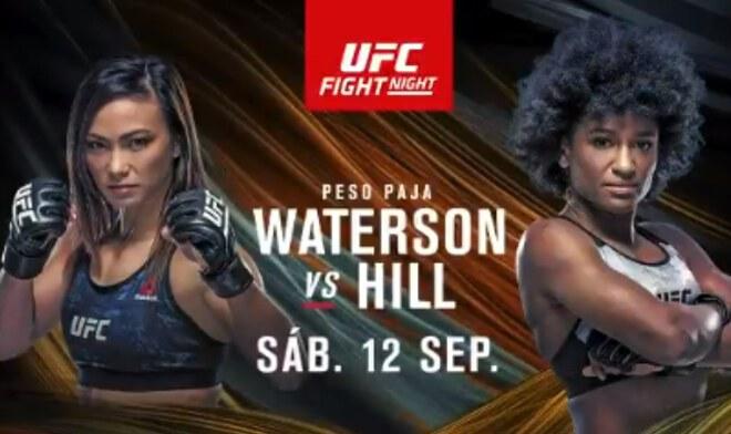 UFC EN VIVO Waterson vs Hill