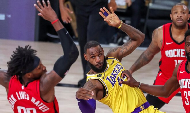 Lakers vs Rockets EN VIVO NBA