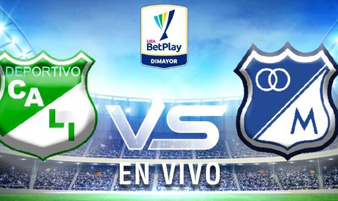Deportivo Cali Vs Millonarios En Vivo Via Win Sports Pt 0 0 Por La Liga Betplay De Colombia Ap Noticias Peru