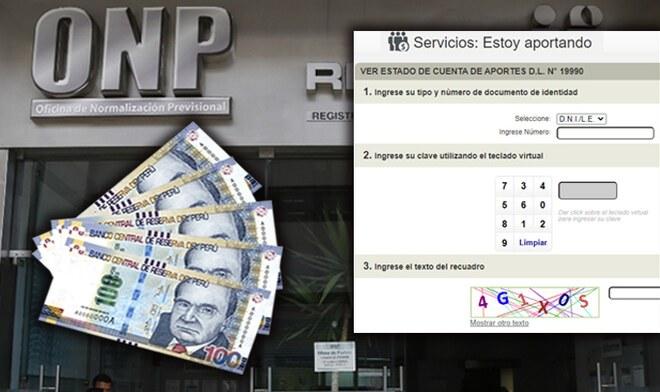ONP Retiro de fondos