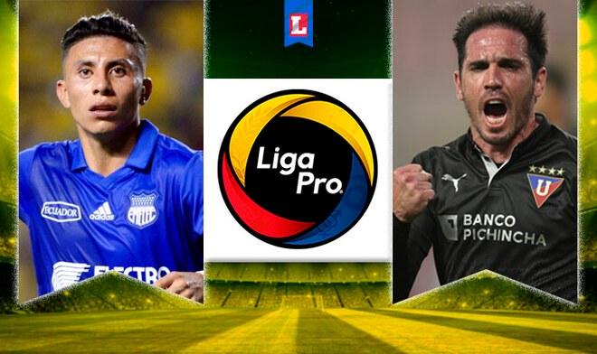 Emelec vs LDU de Quito