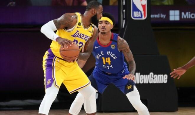 Lakers vs Nuggets NBA