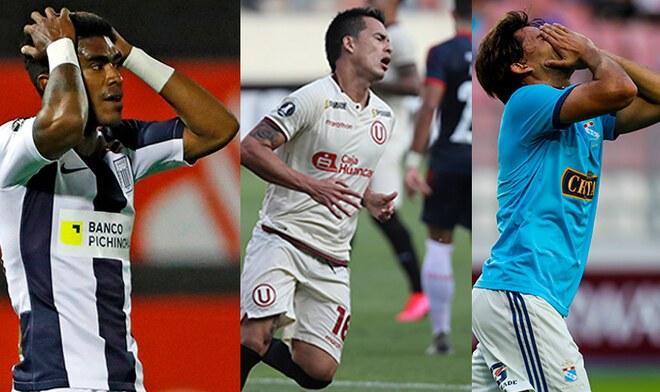 Copa Libertadores, Alianza Lima, Universitario, Sporting Cristal