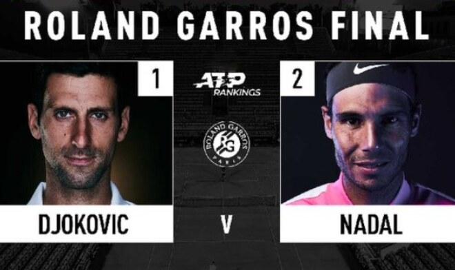Nadal vs Djokovic Roland Garros