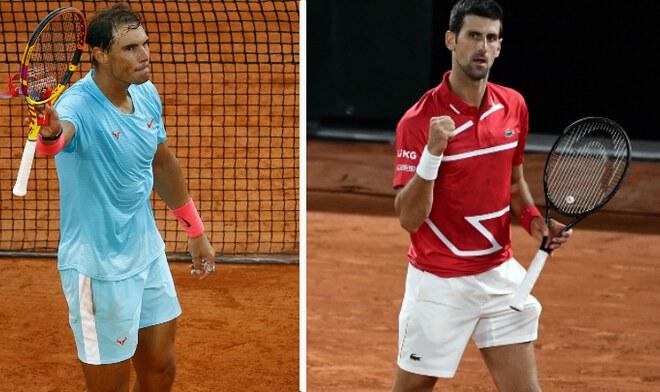 Nadal vs Djokovic EN VIVO
