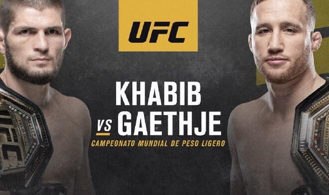 UFC 254 EN VIVO Khabib Nurmagomedov vs Justin Gaethje