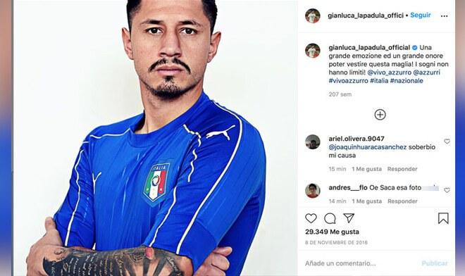 Gianluca Lapadula: Instagram