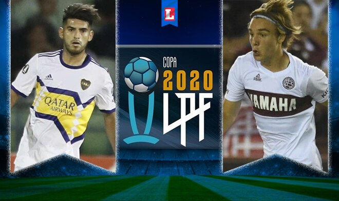 Boca Juniors vs Lanús por Copa de la Liga Profesional