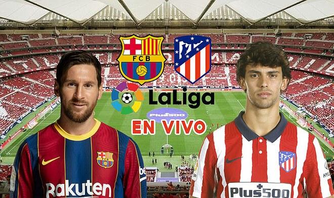 Barcelona vs Atlético Madrid por LaLiga