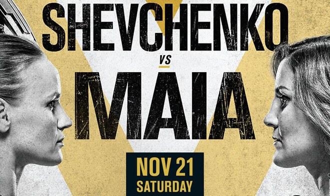 Shevchenko vs Maia pelea por UFC 255