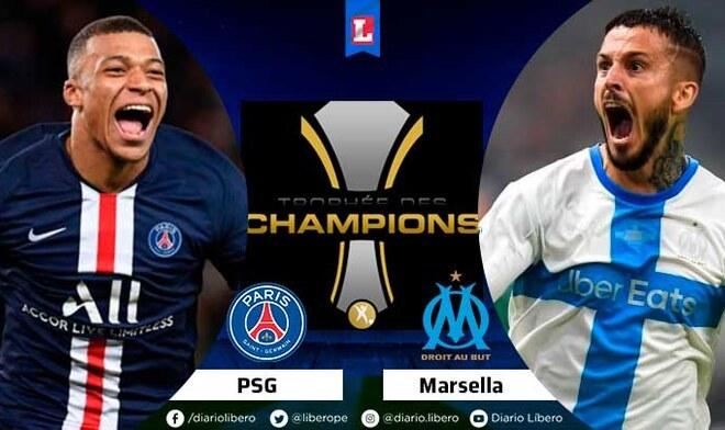 PSG vs Marsella