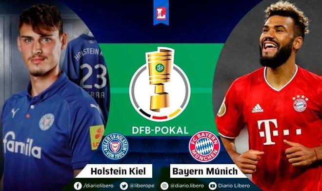 KSV Holstein vs Bayern Munich
