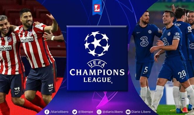 Atlético Madrid vs Chelsea por Champions League