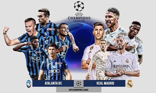 Real Madrid vs Atalanta por Champions League