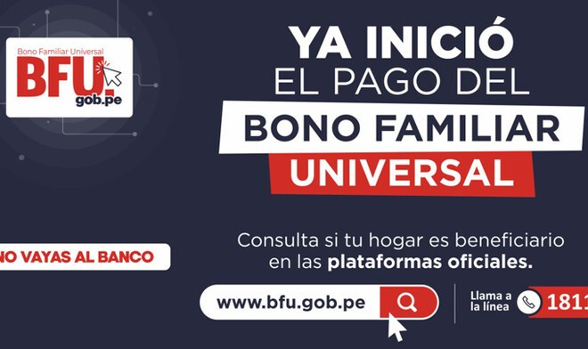 Segundo Bono Familiar Universal
