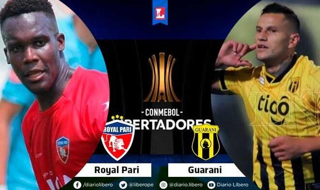 Royal Pari vs Guaraní
