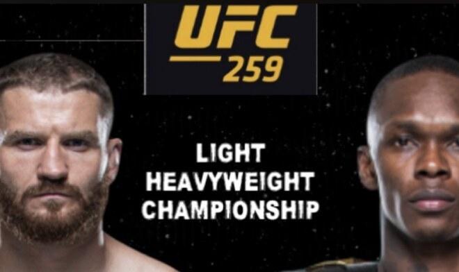 UFC 259 en vivo