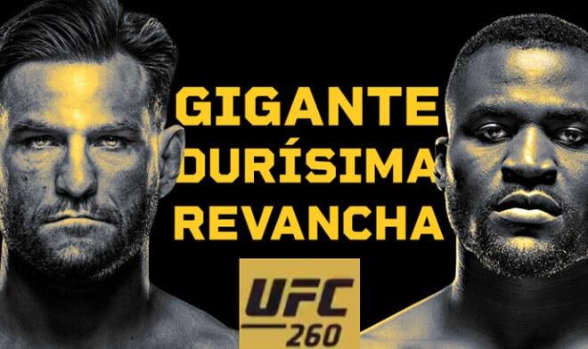 UFC 260, Miocic vs. Ngannou EN VIVO