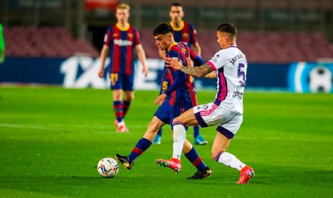 Barcelona, Valladolid, Liga Santander