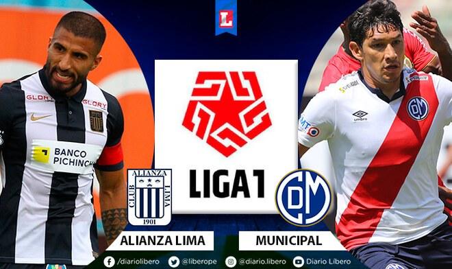 Alianza Lima vs Municipal por Liga 1 Betsson