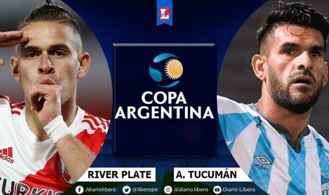 River Plate vs Atlético Tucumán Copa Argentina 2021