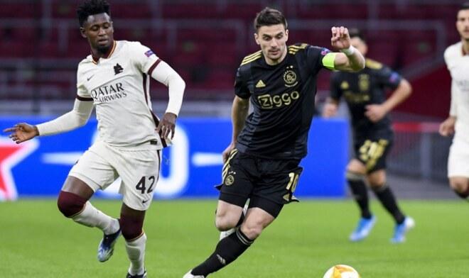 Ajax vs Roma Europa League