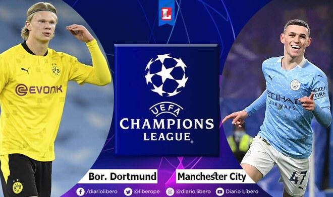 Borussia Dortmund vs Manchester City Champions