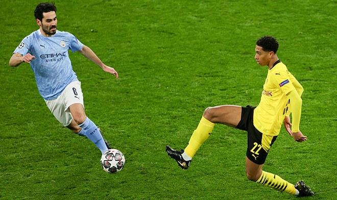 Dortmund, Manchester City, Champions League.