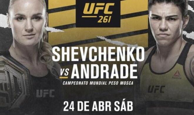 Shevchenko vs Andrade UFC 261