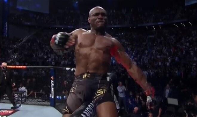 Kamaru Usman UFC 261