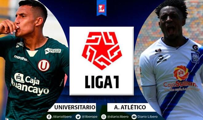 Universitario vs Alianza Atlético