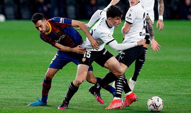 Barcelona, Valencia, Liga Santander