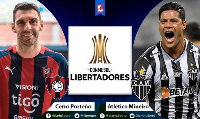 Cerro Porteño vs Atlético Mineiro