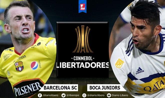 Barcelona SC vs Boca Juniors