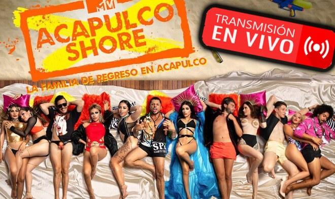 Acapulco Shore segundo capítulo vía MTV