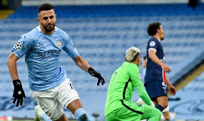 Manchester City vs PSG Champions League