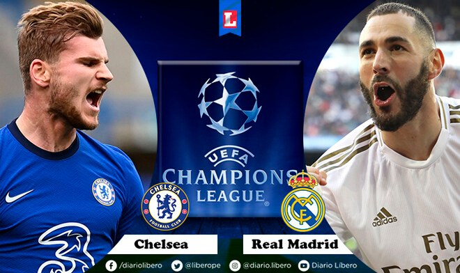 Chelsea vs Real Madrid semifinal Champions League