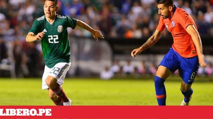 d458d404dc4b1 Ver México vs Chile EN VIVO por Chilevision ONLINE  Transmisión EN DIRECTO  TV  con Arturo Vidal  Internet del amistoso internacional