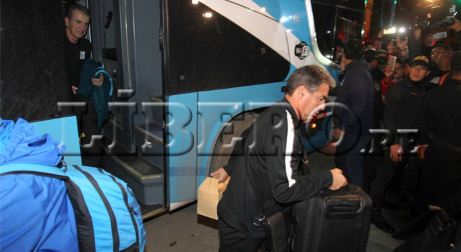 Alianza Lima llegó a Cutervo para su duelo frente a Comerciantes Unidos en la última fecha del Torneo Apertura 2017. Foto: Félix Medina.