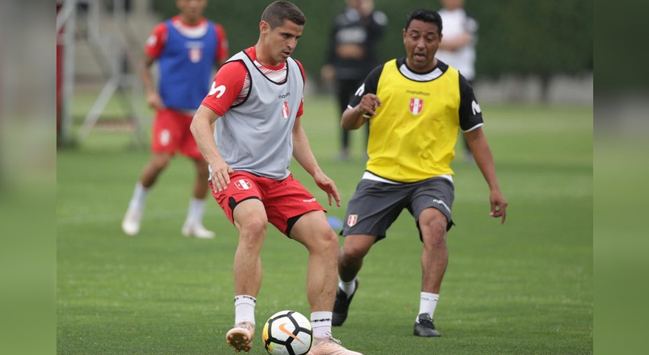 Entrenamiento de Selección Peruana