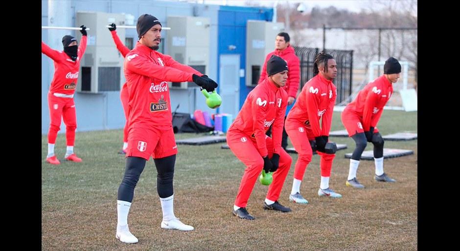 Selección Peruana tuvo su primer día de entrenamiento en Estados Unidos