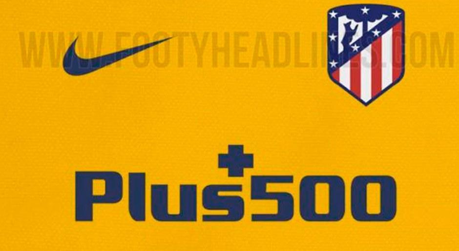 La camiseta amarilla podría ser la tercera equipación del Atlético Madrid