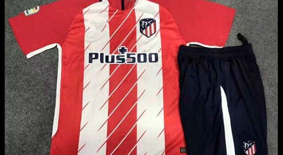 Esta es la polémica camiseta que utilizaría Atlético Madrid en la próxima temporada de la Liga española y la Champions League