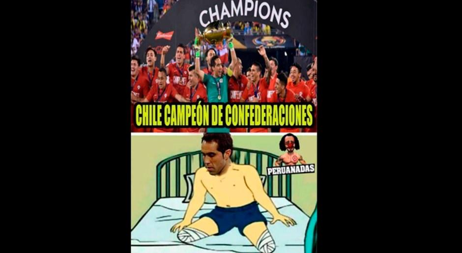 Los mejores memes de la victoria de Alemania sobre Chile en la final de la Copa Confederaciones 2017. Foto: Facebook